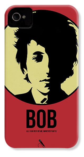 Bob Poster 1 IPhone 4s Case by Naxart Studio