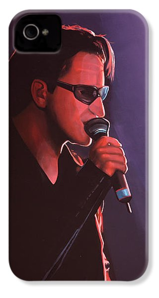 Bono U2 IPhone 4s Case by Paul Meijering