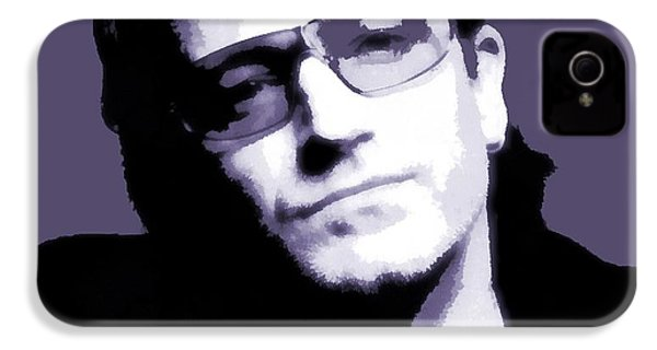 Bono Portrait IPhone 4s Case by Dan Sproul
