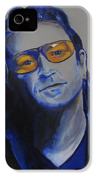 Bono U2 IPhone 4s Case by Eric Dee