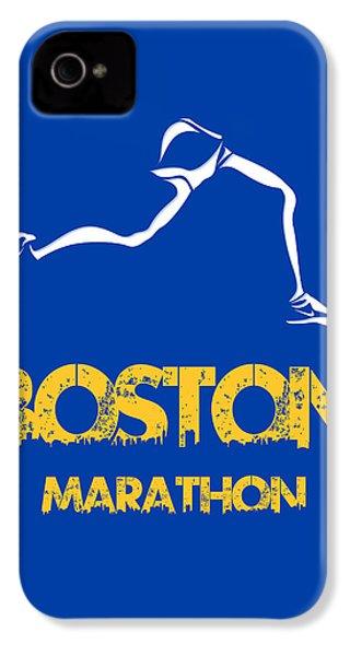 Boston Marathon2 IPhone 4s Case by Joe Hamilton