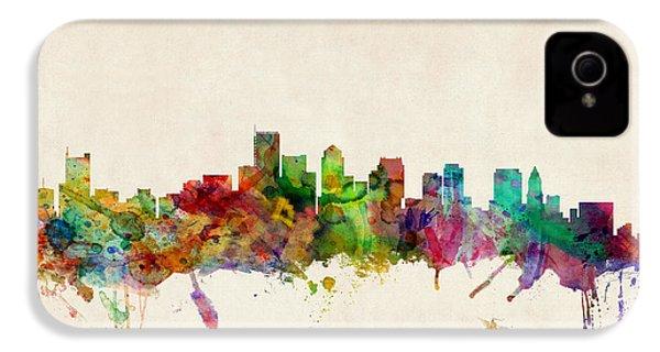 Boston Skyline IPhone 4s Case by Michael Tompsett