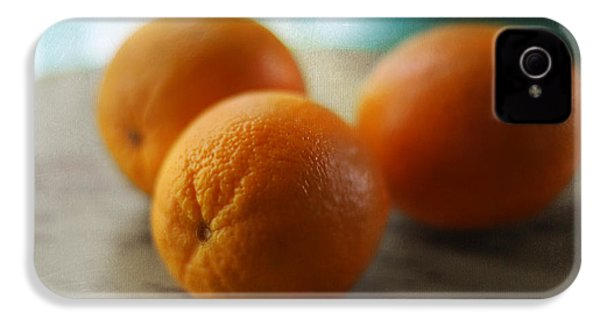 Breakfast Oranges IPhone 4s Case by Amy Tyler