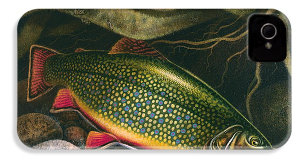 Brook Trout Lair IPhone 4s Case by JQ Licensing