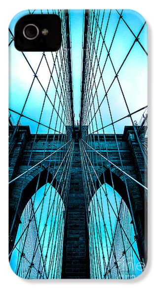 Brooklyn Blues IPhone 4s Case by Az Jackson