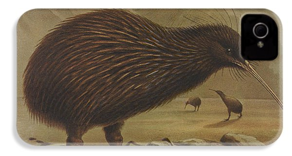Brown Kiwi IPhone 4s Case by Rob Dreyer