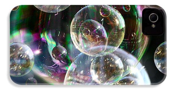 Bubbles And More Bubbles IPhone 4s Case by Nareeta Martin