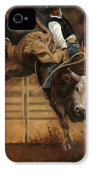 Bull Riding 1 IPhone 4s Case