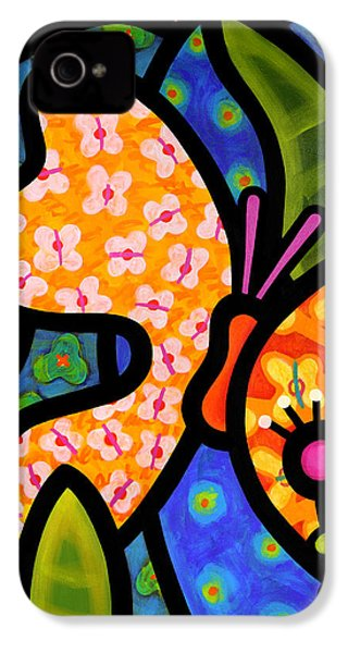 Butterfly Jungle IPhone 4s Case