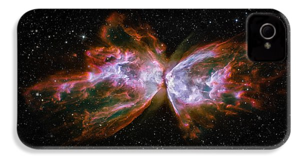 Butterfly Nebula Ngc6302 IPhone 4s Case by Adam Romanowicz