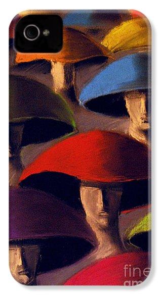Carnaval IPhone 4s Case by Mona Edulesco