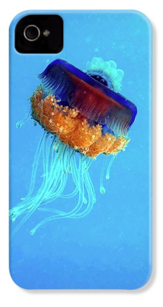 Cauliflower Jellyfish IPhone 4s Case by Louise Murray