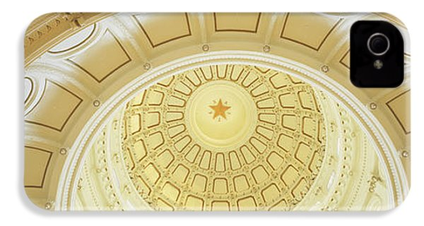 Ceiling Of The Dome Of The Texas State IPhone 4s Case by Panoramic Images