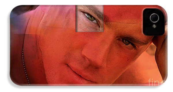 Channing Tatum Painting IPhone 4s Case by Marvin Blaine
