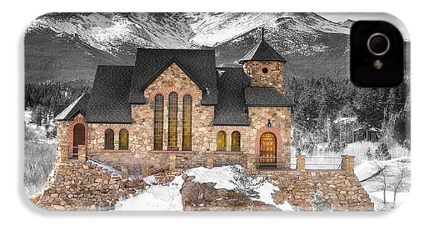 Chapel On The Rock Bwsc IPhone 4s Case by James BO  Insogna