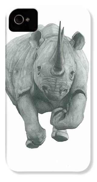 Charging Rhino IPhone 4s Case by Rich Colvin