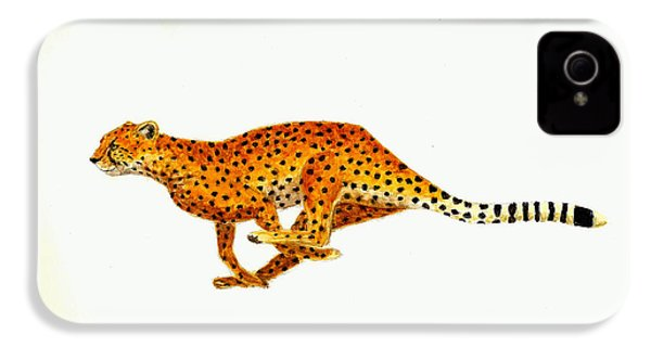 Cheetah IPhone 4s Case by Michael Vigliotti