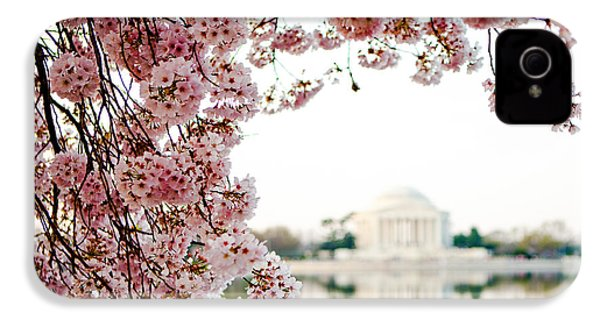 Cherry Blossoms Framing The Jefferson Memorial IPhone 4s Case