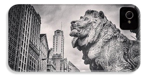 Art Institute Of Chicago Lion Picture IPhone 4s Case