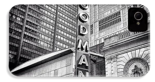 Chicago Goodman Theatre Sign Photo IPhone 4s Case
