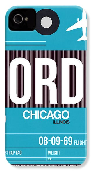 Chicago Luggage Poster 1 IPhone 4s Case