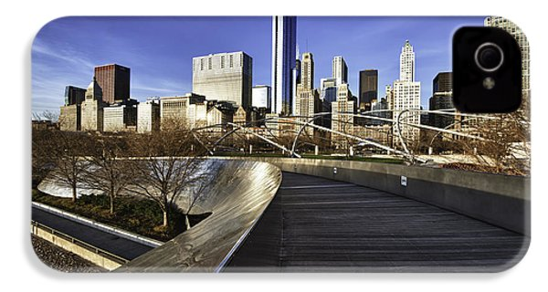 Chicago Skyline At Sunrise IPhone 4s Case by Sebastian Musial