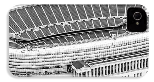 Chicago Soldier Field Aerial Panorama Photo IPhone 4s Case by Paul Velgos