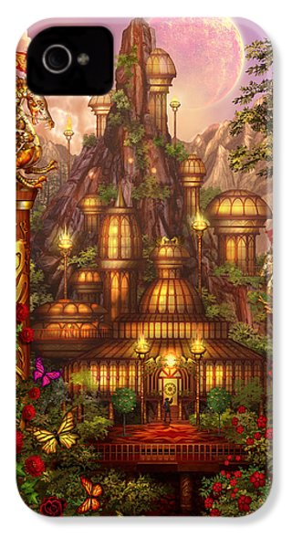 City Of Wands IPhone 4s Case by Ciro Marchetti