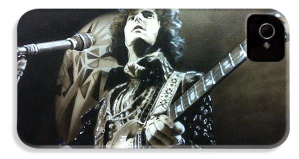 Eric Clapton - ' Clapton ' IPhone 4s Case by Christian Chapman Art