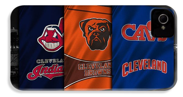 Cleveland Sports Teams IPhone 4s Case by Joe Hamilton