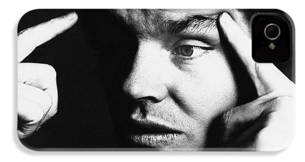 Close Up Of Jack Nicholson IPhone 4s Case by Jack Robinson
