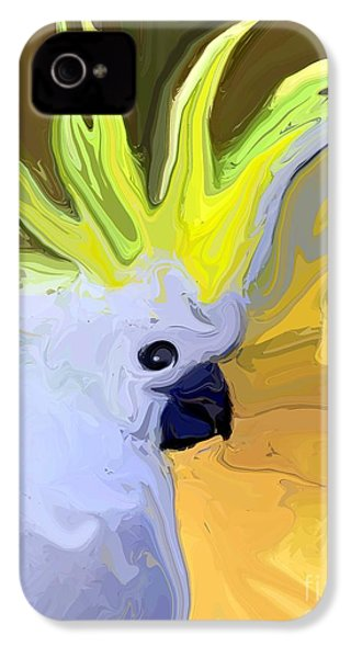 Cockatoo IPhone 4s Case by Chris Butler