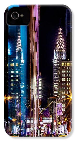 Color Of Manhattan IPhone 4s Case by Az Jackson