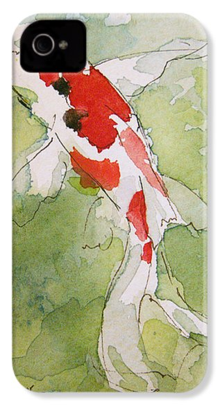 Colorful Fantail Goldfish 3 IPhone 4s Case by Tracie Thompson