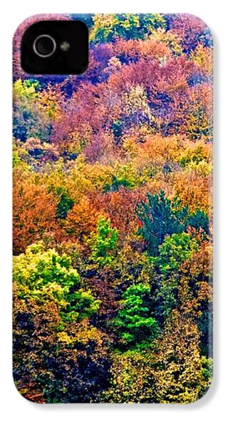 Colors To Winter 2 IPhone 4s Case by Marc Philippe Joly