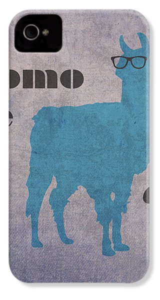 Como Te Llamas Humor Pun Poster Art IPhone 4s Case