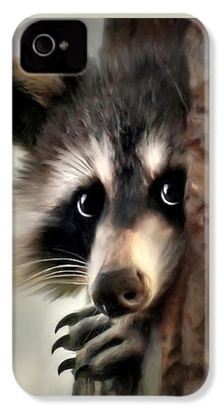 Conspicuous Bandit IPhone 4s Case by Christina Rollo