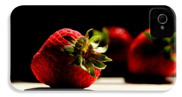 Countertop Strawberries IPhone 4s Case by Michael Eingle