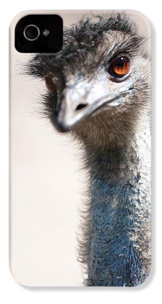 Curious Emu IPhone 4s Case