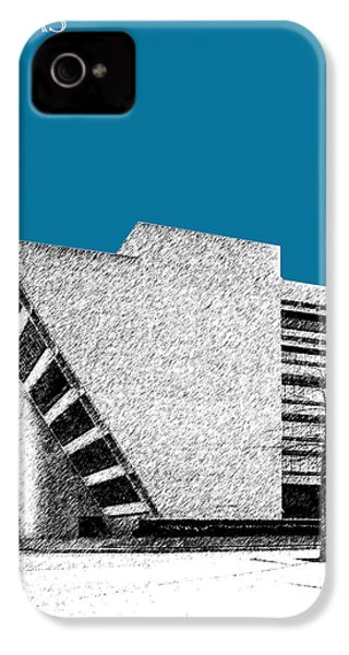 Dallas Skyline City Hall - Steel IPhone 4s Case by DB Artist