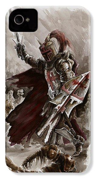 Dark Crusader IPhone 4s Case by Mariusz Szmerdt