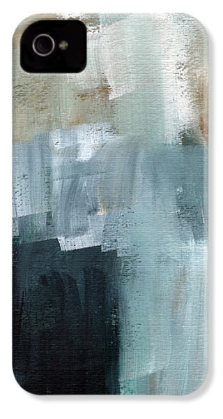Days Like This - Abstract Painting IPhone 4s Case by Linda Woods