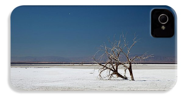 Dead Trees On Salt Flat IPhone 4s Case by Jim West