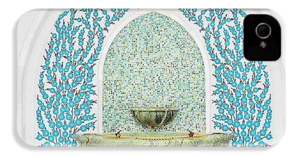 #decorative #wallceramic #grandmosque IPhone 4s Case by Devi Gunawan