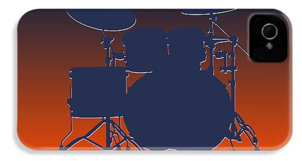 Denver Broncos Drum Set IPhone 4s Case by Joe Hamilton