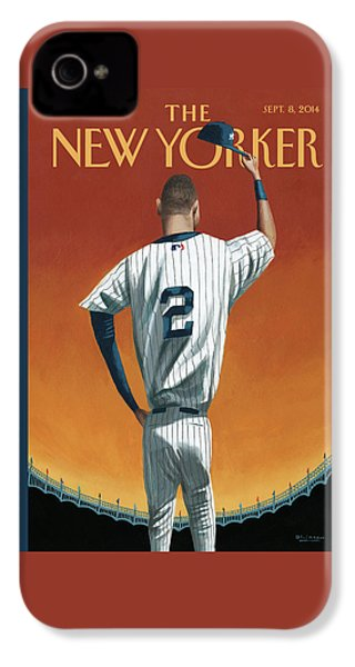 Derek Jeter Bows IPhone 4s Case