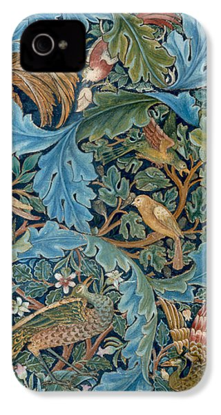Design For Tapestry IPhone 4s Case by William Morris