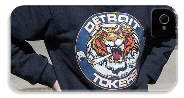 Detroit Tokers IPhone 4s Case by Jim West