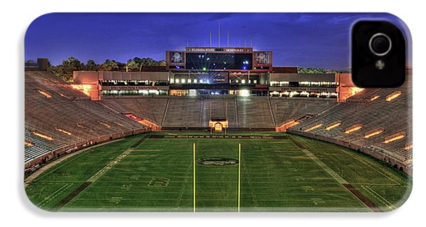 Doak Campbell Stadium IPhone 4s Case by Alex Owen