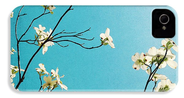 Dogwood Blooms IPhone 4s Case by Kim Fearheiley